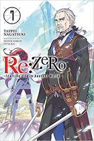 re zero starting life in another world vol 7 light novel tappei nagatsuki shinichirou ot 9780316398497 amazon books