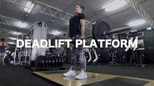 how to use a deadlift platform