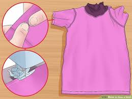 Shirt Folds Reference How To Sew A Shirt Wikihow