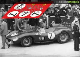 De portago drove one in the mille migla against moss in a 450s maserati. Ferrari 335 Sport 0674 Sefac Le Mans Decals