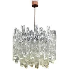vintage lucite chandelier by j t kalmar austria 1960s