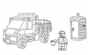 Lego City Undercover Coloring Pages Hasshecom