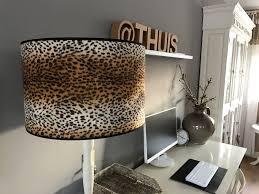 Lampenkap Met Tijgerprint Uniek Lamp Lampenkap Tijgerprint