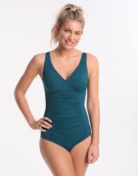 Ava Longer Length Swimsuit   Teal