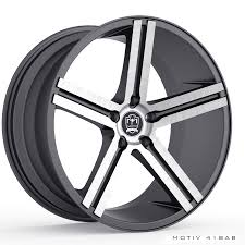 Cars With 5x115 Bolt Pattern Fascinating Motiv 48AB Melbourne 48X4848 Anthracite With Brushed Face Wheels