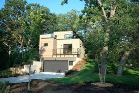 sloped lot house plans traditional modern house plans for sloped lots mountain sloped lot house plans