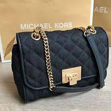 Michael Kors Shoulder Quilted Vivianne MK Bag 100 Genuine | eBay & BNWT Gorgeous MICHAEL KORS shoulder quilted VIVIANNE MK bag RRP£280 100%  Genuine Adamdwight.com