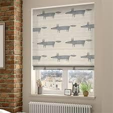 blinds for baby room.  Blinds Mr Fox Mini Neutral Roman Blind Intended Blinds For Baby Room D