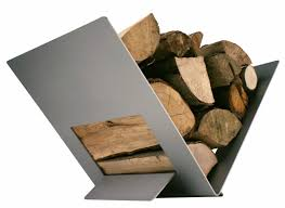 diy firewood rack unique fireplace wood holder hitmagician