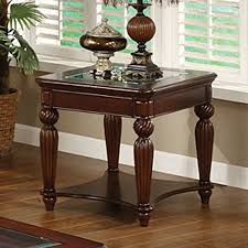 wooden end tables. Furniture Of America Windsor Dark Cherry Glass Casual End Table Wooden Tables