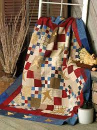 Free Traditional Quilt Patterns - Nine-Patch and Four-Patch Stars &  Adamdwight.com