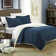 navy blue twin quilt. Simple Blue And Navy Blue Twin Quilt B