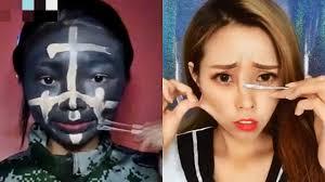best viral asian makeup transformations 2018 asian makeup tutorials pilation