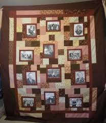 Personalized photo quilt - Photo Frames in brown-peach - using ... & Personalized photo quilt - Photo Frames in brown-peach - using family  photos - Customized Photo Quilt - Heirloom Memory Quilt with Photos | Quilt,  ... Adamdwight.com