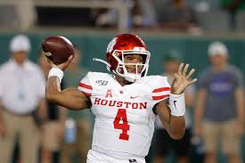 Houston Cougars Depth Chart Uh Qb King To Redshirt Rest Of 19 Plans To Return
