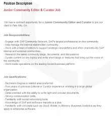 cover letter description job description cover letter florida tech ad astra