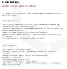 cover letter description job description cover letter florida tech ad astra