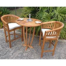 teak miami round bar table chic chic teak furniture a42 chic