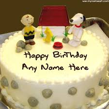 Want To Write My Kids Name On Birthday Cake Pics