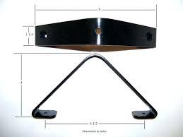 sloped ceiling clothes rod bracket sloped ceiling et rod bracket for angled dimensions holder dimension sloped