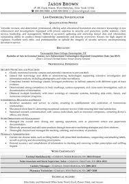 Resume Sample Police Resume Samples Police Resume Skills Objective