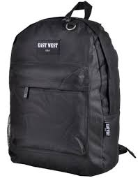 East West <b>Classic Backpack</b> with Key Holder and Bottle Holder B101s