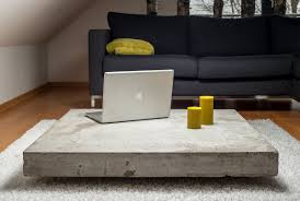 Image Youtube Homedit Concrete Coffee Tables You Can Buy Or Build Yourself