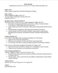 respiratory therapist resume objective examples examples of resumes usc marshall transfer essay sample cover letter for a job im