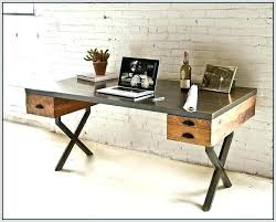 home office wood desk. Industrial Rustic Fusion Reclaimed Wood Desk Home Pertaining To Interesting Office H