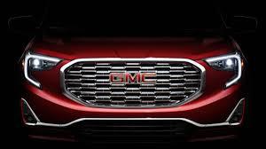 new gmc vehicles