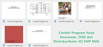 Silahkan melanjukan pendataan pada aplikasi terbaru di laman emis 4.0. Contoh Program Kerja Kesiswaan Osis Dan Ekstrakurikuler Sd Smp Sma Berkas Pendidikan