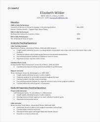 How To Write A Functional Resume Beautiful Teacher Resume Examples