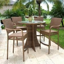 high patio set high patio table