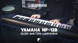 Обзор синтезатора <b>YAMAHA NP</b>-<b>12B</b> - YouTube
