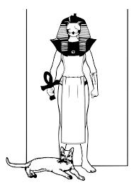 Kleurplaat Egyptische God Afb 26990 Images