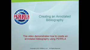 Annotated Bibliography Maker Video Review   YouTube