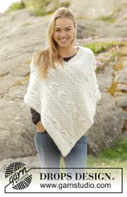 Knit Poncho Pattern Interesting Ponchos Shawls Free Knitting Patterns And Crochet Patterns By