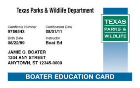 Ed® Course Boat Boating License amp; Texas Safety