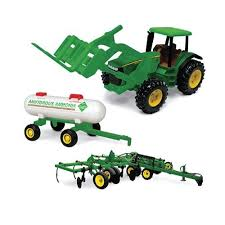 john deere toys. john deere toy tractor with forklift toys