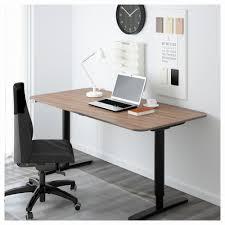 ikea white computer desk new bekant desk sit stand black brown white ikea