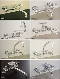 8 vintage style wall mount kitchen faucets wall mount kitchen