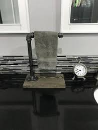 hand towel stand. Fine Towel Industrial Rustic Single Hand Towel Holder Pipe Stand Modern Decor  Bathroom In Stand T