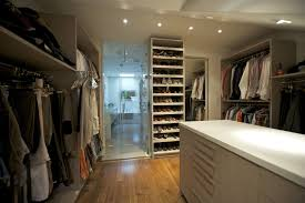 bedroom closet design ideas. U Shaped White Stained Wooden Walk Master Bedroom Closet Design Ideas Large Smooth Sanded Armoires Wardrobe Solid Wood Cabinet Yellow Wall Shelves Z