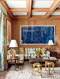 transform wood paneling in your living