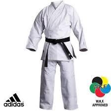 Details About Adidas Elite Karate Gi Suit Uniform Wkf Mens Womens Adults White Karate Gi K380
