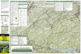 great smoky mountains national park map ti    trail