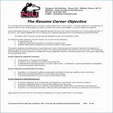 Career Objectives For Resume For Engineer Publicassets Us