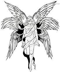 lucifer angel form lucifer angel form outlined by vickydragon on deviantart