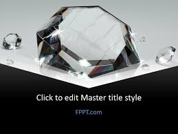 Free Luxury Diamond Powerpoint Template Free Powerpoint Templates