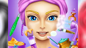 makeup hair style cartoon baby videos beauty salon games for kids